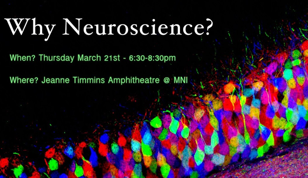 Why Neuroscience Poster